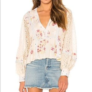Boogie All Night Free People Top Size Small